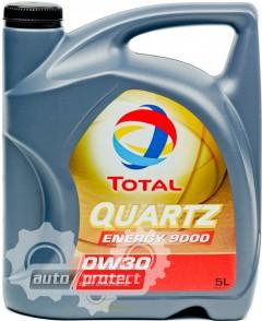Фото 1 - Total Quartz Energy 9000 0W-30 Синтетическое моторное масло