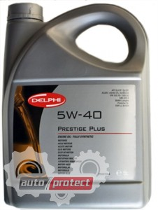Фото 1 - Delphi Моторное масло Delphi Prestige Plus 5W-40