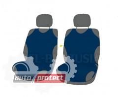 Фото 1 - Koszulki Майки автомобильные универсальные передние темно-синие, 2шт