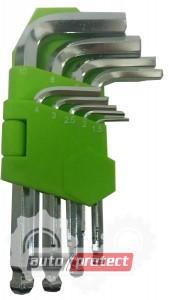 Фото 1 - Alloid Набор шестигранных ключей 9шт, 1.5-10мм
