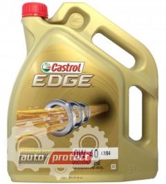 Фото 1 - Castrol Edge Sae 0W-40 Синтетическое моторное масло