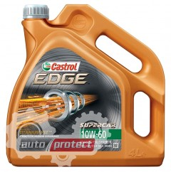 Фото 1 - Castrol Edge 10W-60 Синтетическое моторное масло Edge10w60