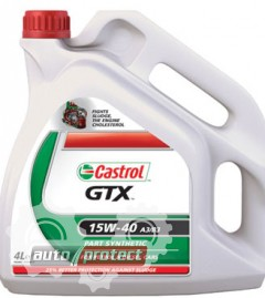 Фото 2 - Castrol GTX 15W-40 A3/B3 Минеральное моторное масло