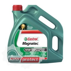 Фото 2 - Castrol Magnatec SAE 10W-40 A3/B4 Полусинтетическое моторное масло
