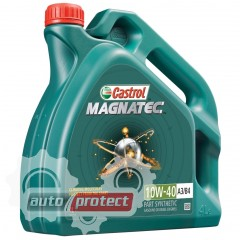 Фото 1 - Castrol Magnatec SAE 10W-40 A3/B4 Полусинтетическое моторное масло