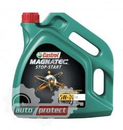 Фото 1 - Castrol Magnatec 5W-30 A5 Синтетическое моторное масло