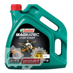 Фото 1 - Castrol Magnatec 5W-30 A3/B4 Синтетическое моторное масло Castrol Magnatec Stop-Start 5W-30 A3/B4