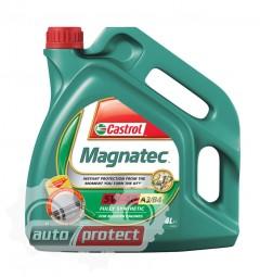Фото 2 - Castrol Magnatec 5W-40 A3/B4 Синтетическое моторное масло Castrol Magnatec 5W-40 A3/B4