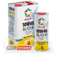 Фото 1 - VeryLube Полусинтетическое моторное масло 10W-40 SL/CI-4