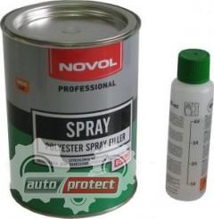 Фото 1 - Novol SPRAY Шпатлевка наносимая способом распыления