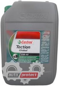 Фото 1 - Castrol Tection Global 15W-40 Минеральное моторное масло