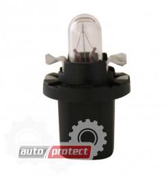 Фото 1 - Osram 2722 MF8 12V 2W B8.3d Автолампа подсветки приборов с патроном для установки в печатную плату