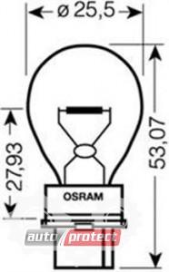 ���� 2 - Osram Original Line 3156 12V 27W ��������� ����������, 1��