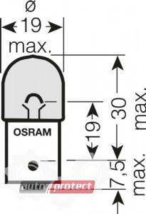 ���� 2 - Osram 5009 RY10W 12V 10W ��������� ����������, 1��