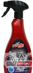 Фото 1 - Turtle Wax Red Line Восковий спрей для мокрой и сухой поверхности
