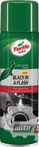 Фото 2 - Turtle Wax Black in a Flash Полироль для внутреннего и внешнего пластика