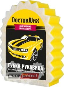 Фото 1 - Doctor Wax Губка рукавица с сеткой для мойки и удаления сложных загрязнений