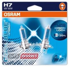 Фото 3 - Osram Cool Blue Intense H7 12V 55W Автолампа галогенная, 1шт