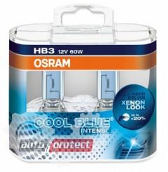 Фото 1 - Osram Cool Blue Intense 9005 HB3 12V 60W Автолампа галогенная, 2шт