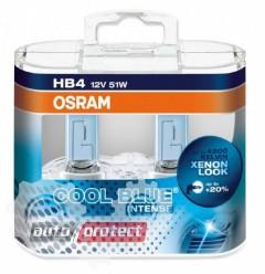 Фото 1 - Osram Cool Blue Intense 9006 12V 51W Автолампа галогенная, 2шт