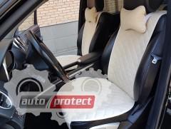 Фото 1 - Аvторитет Premium Накидки на передние и задние сиденья, бежевые