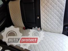 Фото 3 - Аvторитет Premium Накидки на передние и задние сиденья, бежевые