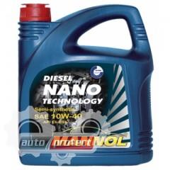Фото 1 - Mannol NANO DIESEL TECHNOLOGY 10W-40 Полусинтетическое  моторное масло