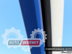 Фото 5 - Heko Дефлекторы окон Hyundai Galloper1998 -> вставные, черные 2шт