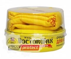 Фото 1 - Doctor Wax полироль-защита с воском Карнауба для старых покрытий Doctor Wax