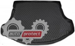 Фото 1 - Novline Коврик в багажник Kia Sportage '10-15, полиуретановый черный