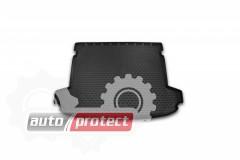 Фото 1 - Novline Коврик в багажник Kia Sportage '16-, полиуретановый черный