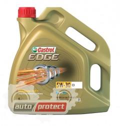 Фото 1 - Castrol Edge 5W-30 C3 Синтетическое моторное масло CASTROL EDGE 5W-30 C3