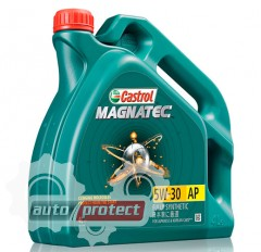 Фото 1 - Castrol Magnatec 5W-30 AP Синтетическое моторное масло Castrol Magnatec 5W-30 AP