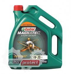 Фото 1 - Castrol Magnatec Sop-Start 5W-20 E Синтетическое моторное масло Magnatec Sop-Start 5W-20 E