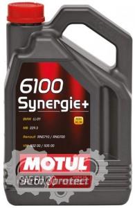 Фото 2 - Motul 6100 Synergie+ 5W-30 Полусинтетическое моторное масло
