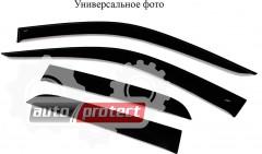 Фото 1 - Cobra Tuning Дефлекторы окон Toyota Land Cruiser Prado 90 '96-02, на скотч