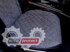 Фото 3 - Аvторитет Premium Накидка на переднее сиденье, графит, 2шт