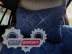 Фото 1 - Аvторитет Подушка на подголовник, темно-синий