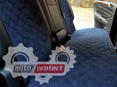 Фото 5 - Аvторитет Premium Накидки на передние и задние сиденья, темно-синий