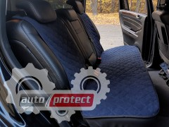 Фото 2 - Аvторитет Накидка на заднее сиденье, темно-синий, 2шт
