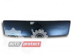 Фото 2 - AVTM Зимняя накладка матовая Fiat Doblo '06-12, верх решетка