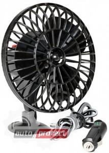 Фото 1 - Elegant Вентилятор автомобильный, 12V, от прикуривателя, на присоске