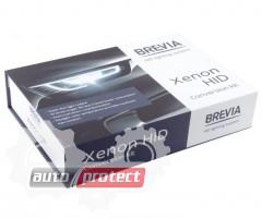 Фото 1 - Brevia  Н1 6000К + Super Slim Canbus Комплект ксенона