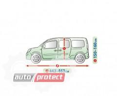 Фото 2 - Kegel-Blazusiak Mobile Garage Тент автомобильный на коммерческий транспорт PP+PE, XL LAV