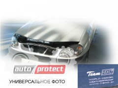 Фото 2 - Heko Дефлекторы капота  VW Caddy 3 2004 -> , на зажимах