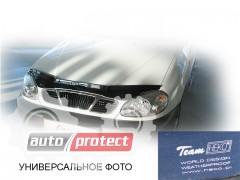 Фото 2 - Heko Дефлекторы капота  VW T4 1997-2003 , на зажимах косая