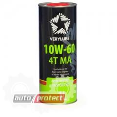 Фото 1 - VeryLube 10W-60  4Т MA Синтетическое масло 4Т двигателей для мототехники