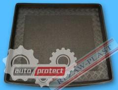 Фото 1 - TM Rezaw-Plast Коврики в багажник BMW X1 2009-> резино-пластиковые, черный, 1шт