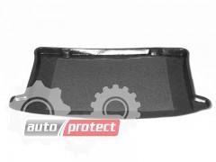 Фото 1 - TM Rezaw-Plast Коврики в багажник Chevrolet Aveo  I 2002-2011-> резино-пластиковые, хетчбэк, черный, 1шт