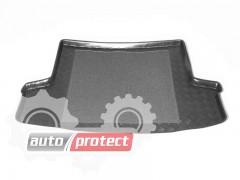 Фото 1 - TM Rezaw-Plast Коврики в багажник Chevrolet Aveo II 2004-2006-> резино-пластиковые, седан, черный, 1шт
